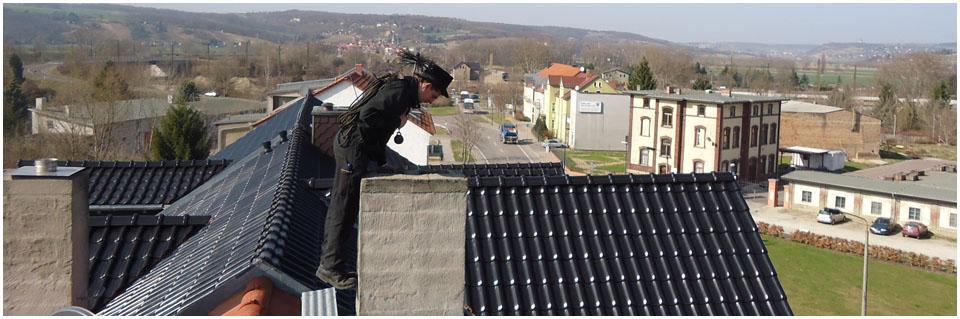 Bild: über den Dächern von Naumburg - Rossbacher Straße